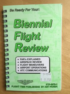Flight Review booklet