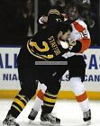 SCOTT HARTNELL PHILADELPHIA FLYERS FIGHT 8x10 PHOTO 2 BROAD STREET BULLIES