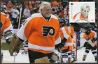 CANADA  28712 BERNIE PARENT HOCKEY STAMP on MAXIMUM POST CARD ONLY 8 MADE