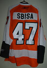 NHL PHILADELPHIA FLYERS USA AUTHENTIC SIGNED ICE HOCKEY SHIRT JERSEY 47 SBISA