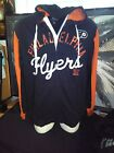 G3 by Carl Banks Philadelphia Flyers Hooded Jacket Large