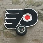 Philadelphia Flyers Game Puck and Patch