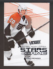 CHRIS PRONGER Flyers 2010 11 UD VICTORY STARS OF THE GAME INSERT CARD SOG PR