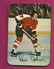 1976 77 TOPPS FLYERS BILL BARBER INSERT GLOSSY CARD INV2887