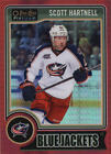 2014 15 O Pee Chee Platinum Red Prism Parallel 12 Scott Hartnell  135 BX 403F