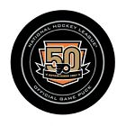 GAME PUCK 2016 2017 PHILADELPHIA FLYERS 50th ANNIVERSARY ACL