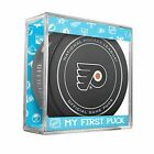 NEW PHILADELPHIA FLYERS MY FIRST OFFICIAL PUCK IN CASE BABY BOY BLUE