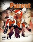 BERNIE PARENT Philadelphia Flyers LICENSED un signed picture poster 8x10 photo
