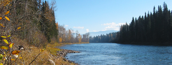 Bulkley River, BC :: photo by Richard Mayer © 2003