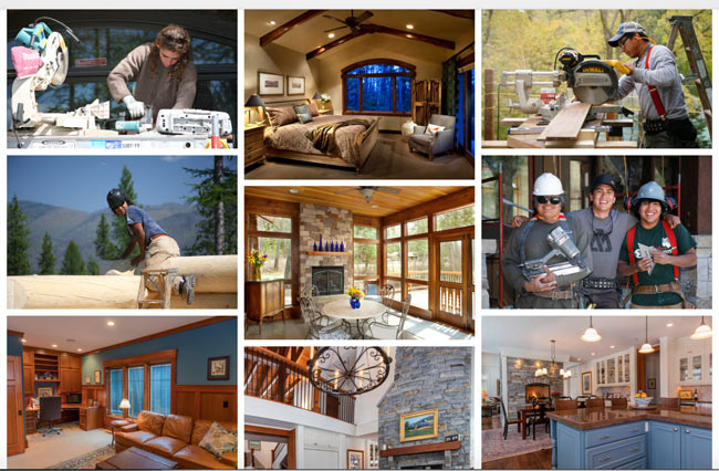 North Country Builders - Portfolio Page