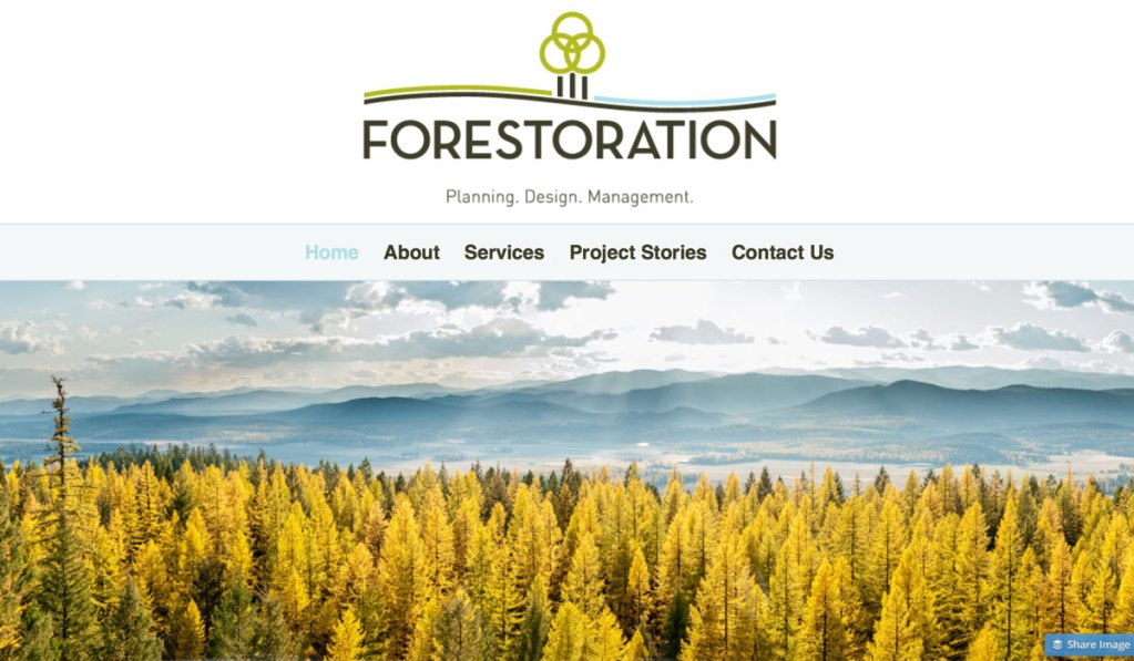 Forestorations Inc. Website