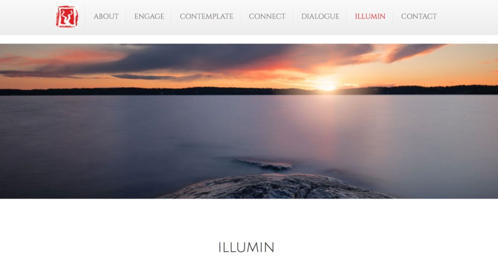 Two Rivers Consulting Illumin - sunset over body of water