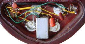 Gibson EB3 circuit image (series 1, late 1960s) >> FlyGuitars