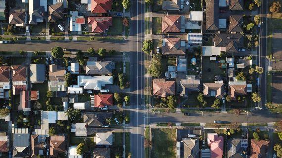 neighborhood from above