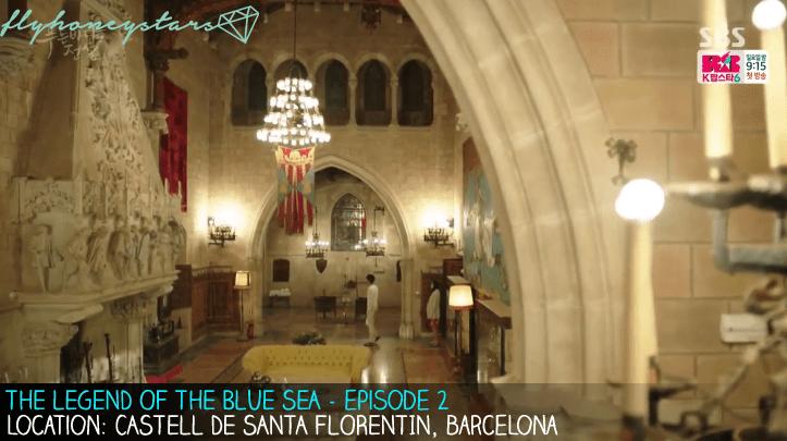 legend of blue sea castell de santa florentin 1