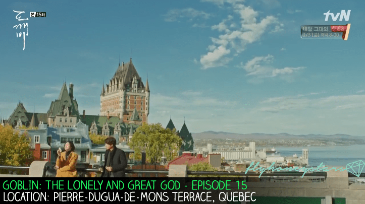 goblin drama location Pierre-Dugua-De-Mons Terrace quebec