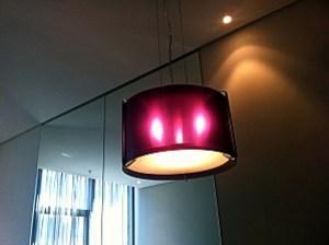 lampe rose