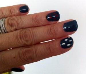 nail art confettis