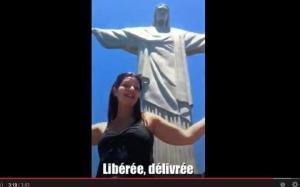 Vidéo parodique libérée délivrée