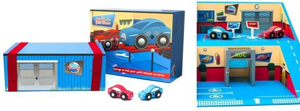 garage en bois speedy