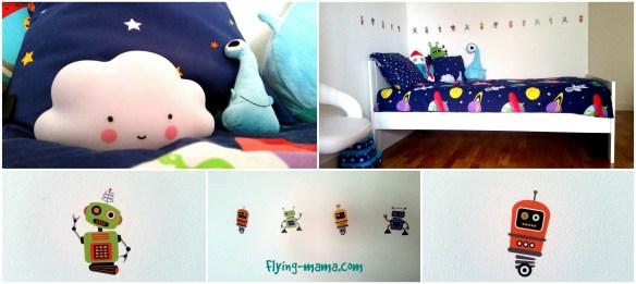chambre enfant espace