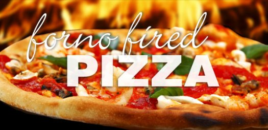 Forno fired pizza Flying Canoe Courtenay