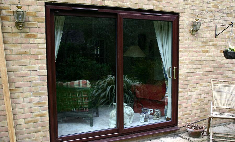 12ft upvc sliding patio doors