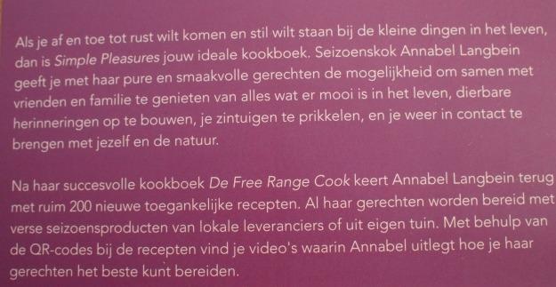 Annabel Langbein simple pleasures