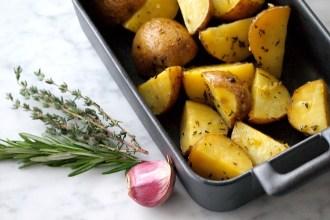 Recept Aardappelen uit de oven