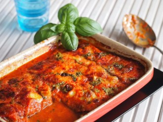 Italiaans Recept Melanzane di Parmigaino