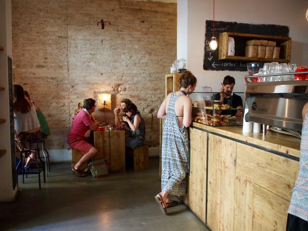 Koffie ontbijt hotspot Friedrichshain Berlijn