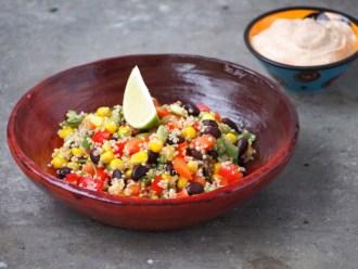 Recept mexicaans quinoa salade