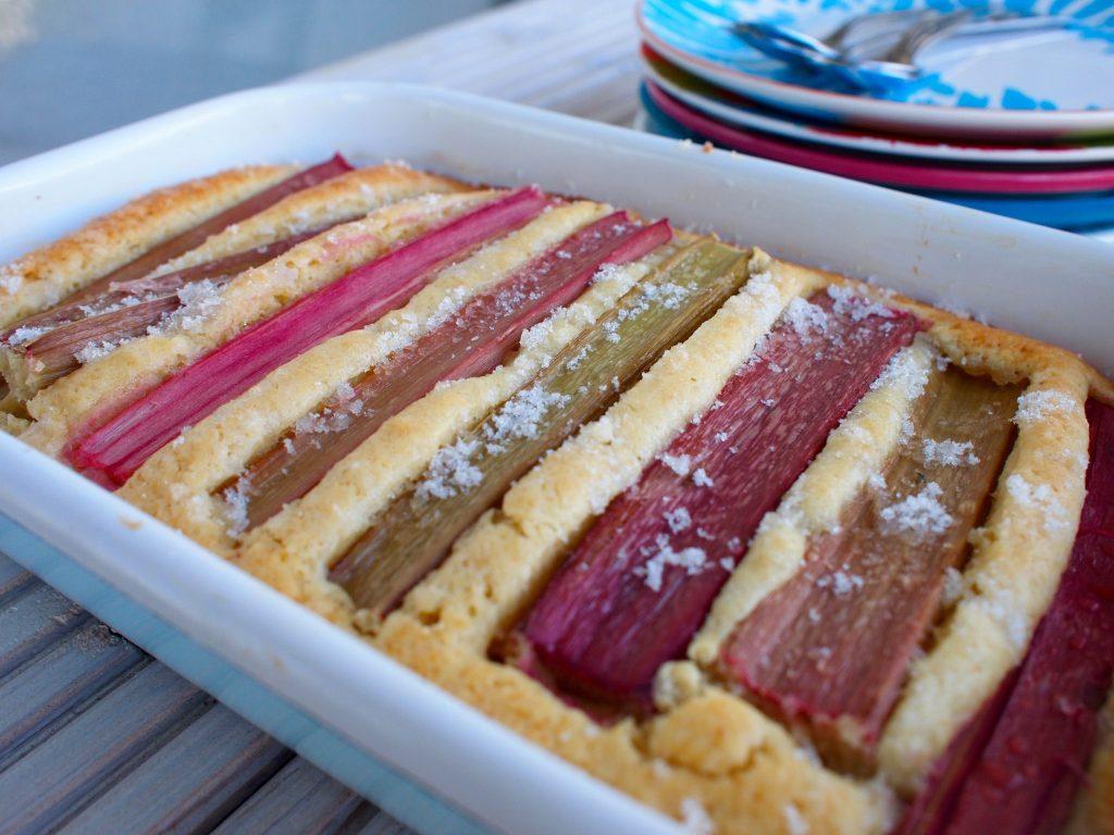 Recept Rabarber Cake