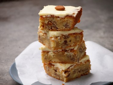 Recept Blondies met noten