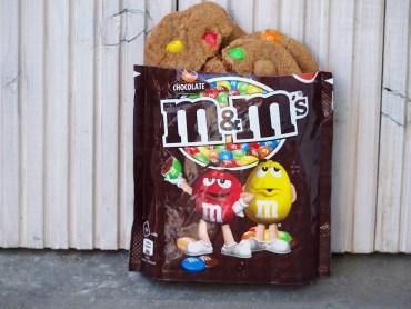 Recept M&M koekjes