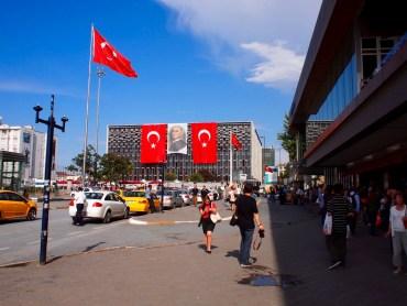 Reisverslag Istanboel: Traangas en paniek