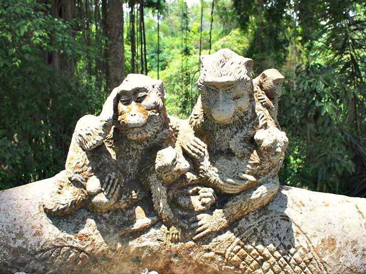 Monkey Forrest Ubud bali
