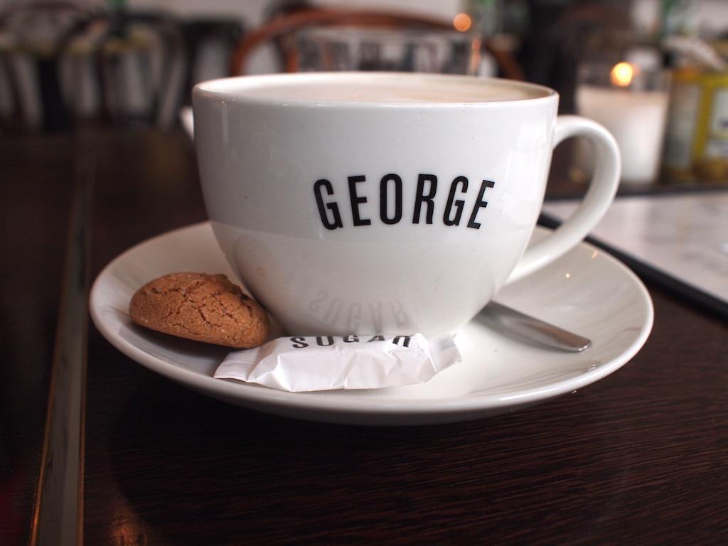 George bisto Amsterdam Zuid brunchen lunchen en hamburgers