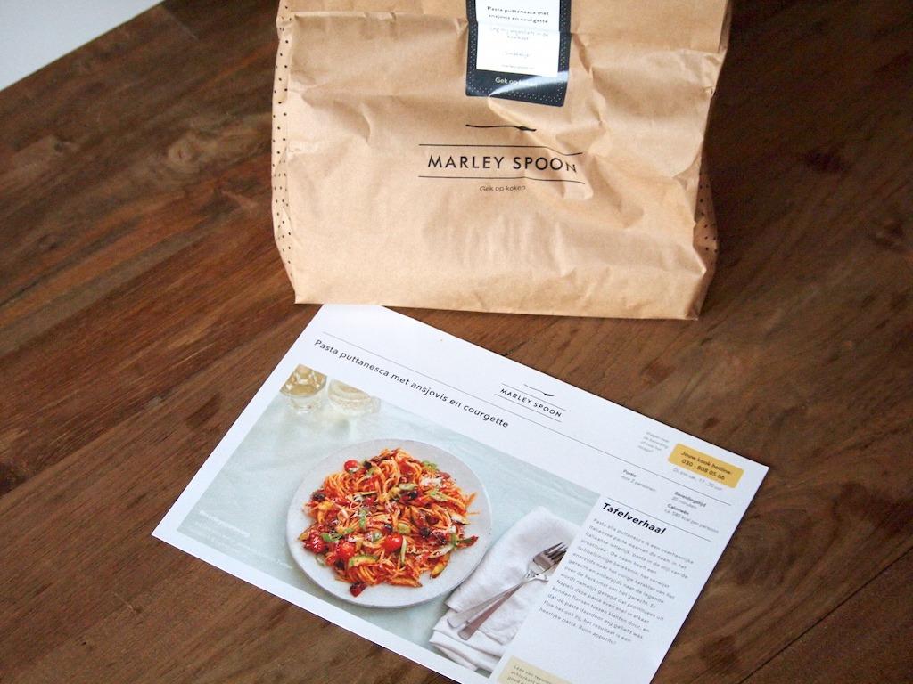 REVIEW | Marley Spoon Maaltijd box