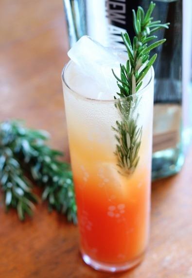 Feest cocktail pinterst bloedsinaasappel