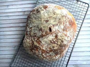 Recept voor brood zonder kneden