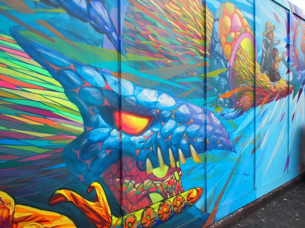 Street Art Shoreditch draak