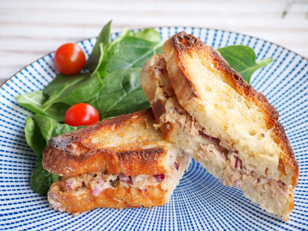 Recept Tuna Melt Sandwich