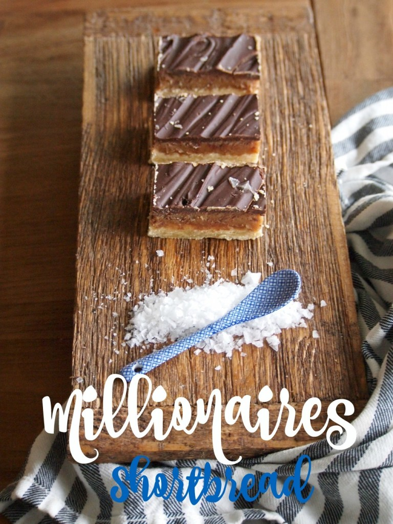 Millionaires Shortbread met caramel en chocolade