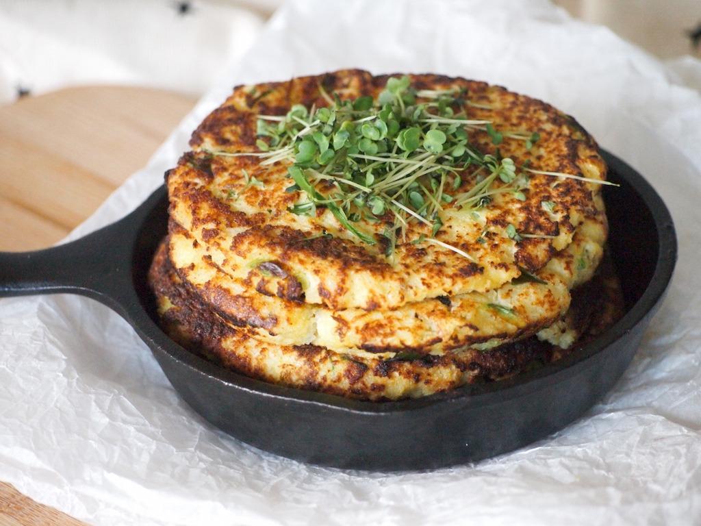 Recept bloemkool tortilla