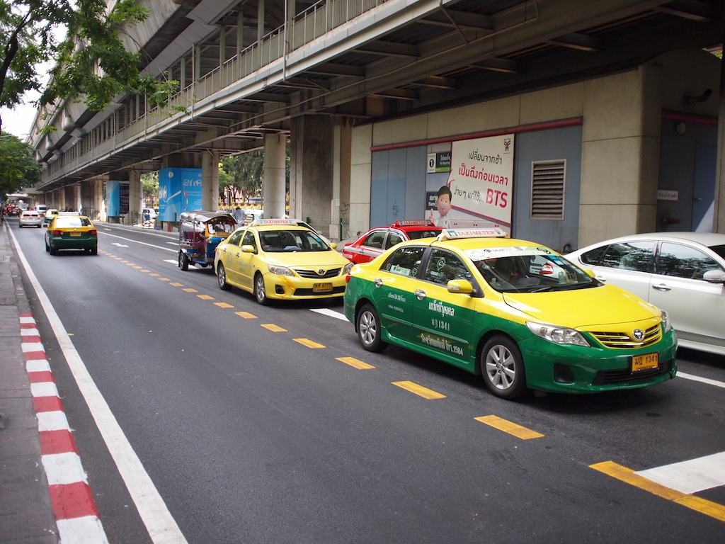 Vervoer Bangkok Taxi