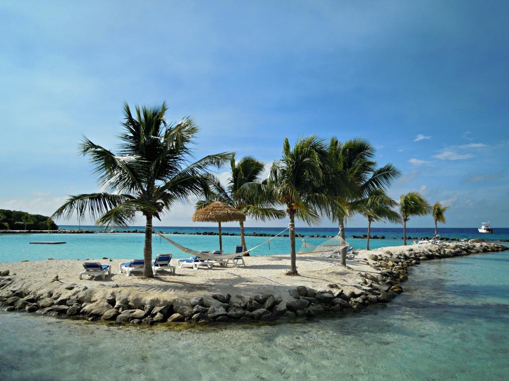 Mooiste stranden van aruba flamingo beach private island