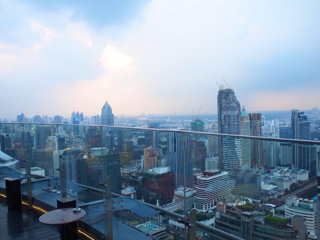 Leukste Skybar Bangkok Thailand Red Sky