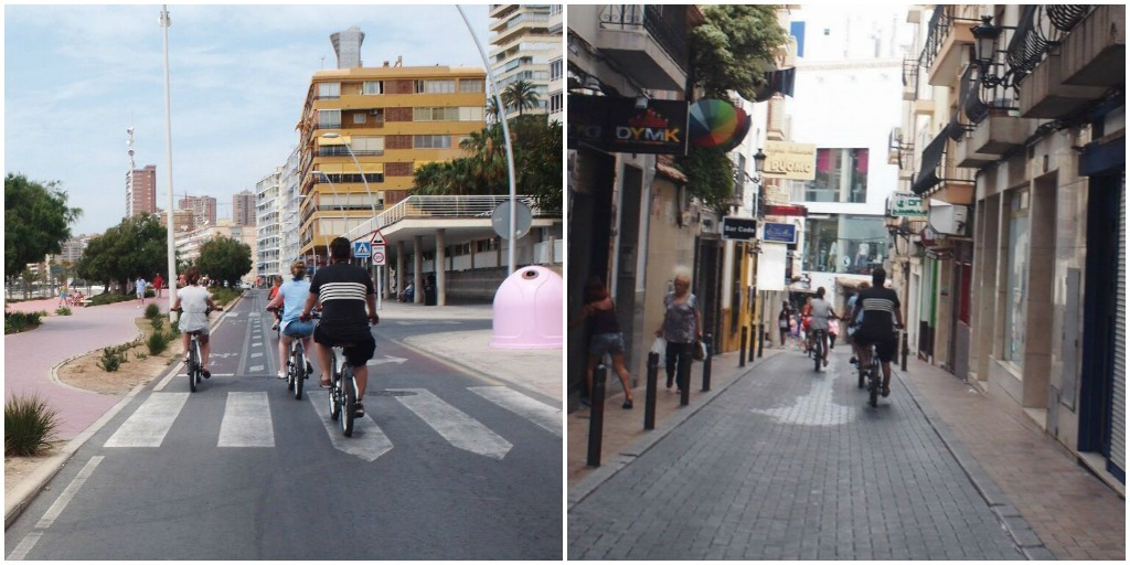 Benidorm bike tour tao e-bikes