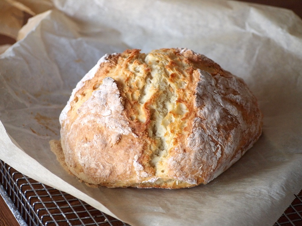Recept Soda Brood snel en makkelijk